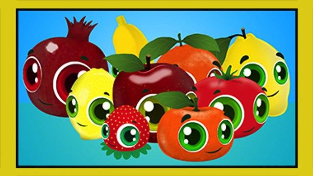 Renkler Sebzeler Meyveler - Eğitici Çizgi Film Çocuk Şarkısı - Edis ile Feris