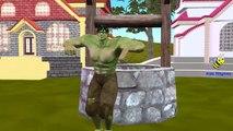 Hulk Cartoon Ding Dong Bell Children Nursery Rhymes | Hulk Ding Dong Bell Nursery Rhymes for Babies