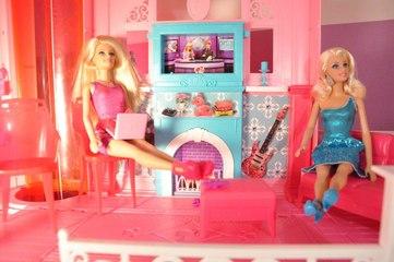 Barbie Rüya Evi (6.Bölüm) - OTURMA ODASI- EvcilikTV - Barbie Videoları