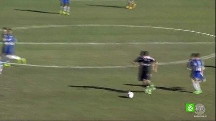 Theo Zidane Amazing Goal - Espanyol vs Real Madrid 0-3 (La Liga Promises) 28/12/2014