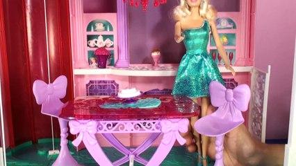 Barbie Rüya Evi (2.Bölüm) - YEMEK ODASI - EvcilikTV