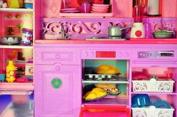 Barbie Rüya Evi (1.Bölüm) - MUTFAK - Evcilik Tv Barbie Videoları