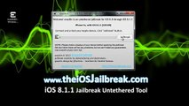 Apple iOS 8.1.2 Offisiell untethered Evasion Jailbreak - iPhone, iPad og iPod Touch