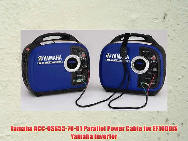 Yamaha ACC0SS557001 Parallel Power Cable for EF1000iS Yamaha Inverter