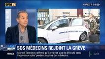 BFM Story: SOS Médecins rejoint la grève des médecins libéraux - 29/12