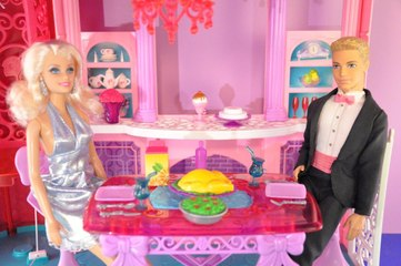 Babrie Rüya Evi konuğu Ken - Barbie Videoları - Evcilik TV