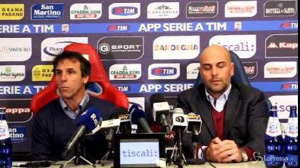 Zola: Cagliari posto speciale, dispiace trovarlo in difficoltà