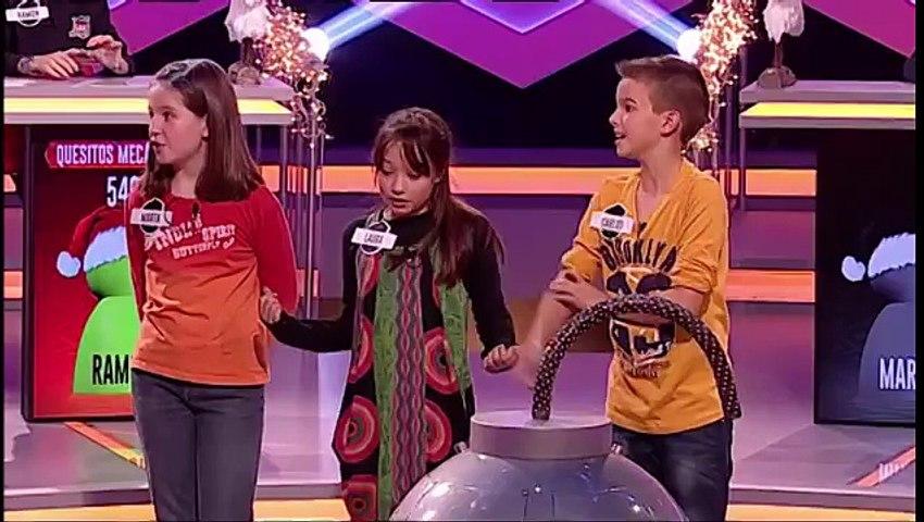 Juanra Bonet lo da todo bailando en el especial niños de ¡Boom!