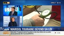 BFM Story: Grève des médecins: Marisol Touraine défend son projet de loi - 30/12