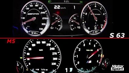 BMW M5 VS Mercedes S 63 AMG : la plus rapide est...