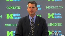 Jim Harbaugh: Coaching at Michigan a dream