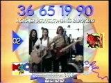 M6 24 Décembre 1993 Fin M6 KID,Multitop,4 Pubs,3 B.A.