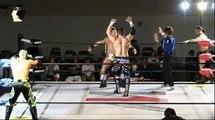 Team 246 (Kaz Hayashi & Shuji Kondo) vs. Eddie Edwards & Tigre Uno