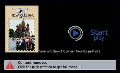 Travel with Barry & Corinne - New Russia Part 2 Download Movie Watch Now