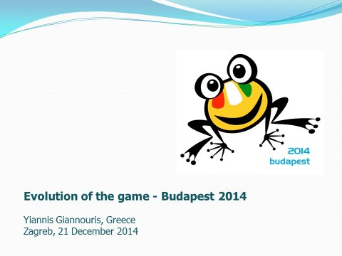 Waterpolo: Evolution of the game - Budapest 2014 by Yiannis Giannouris