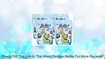 Nellie's Natural All-Natural Laundry Soda, 50 Load Bag, Pack of 4 Review