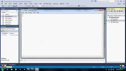 How to make a Professional Website in Visual Studio 2013 - Umer Farooq