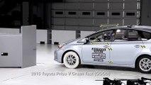Crash protection - Vehicle improvements 2015 Toyota Prius V
