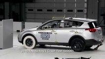 Crash protection - Vehicle improvements 2015 Toyota RAV4 Crash Test
