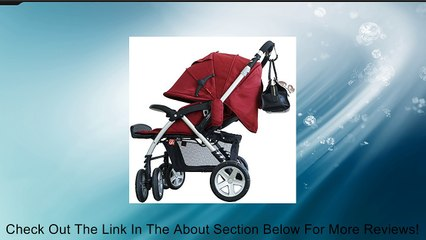 Stroller Hook, Clips On To Fit Any Baby Stroller, Great For Diaper Bags, Mommy's Purses Or Anything You Want To Hang From Your Stroller, Made From Heavy Duty Aluminum, Lightweight For Long Lasting-Be Hands Free to Navigate And Care For Your Child-Lifetime