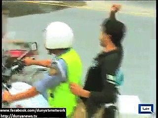 Lahore- Police to arrest youth for one-wheeling, hooliganism, aerial firing on New Year's eve.
