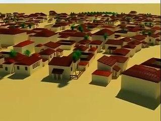 طالب تونسي يعيد امجاد قصر الجم _ V 3D