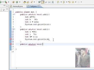 Java Programming Tutorial -16- (In Urdu) Using Classes With Multiple Methods