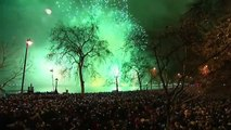 London New Year Fireworks 2015 With Full Music - London New Years Full Fireworks