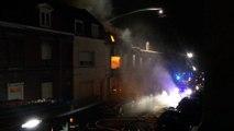 Explosion à Roubaix : les pompiers ont filmé leur intervention