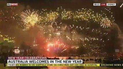 Spectacular Start To 2015 In Sydney.