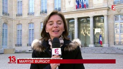 Hollande présentera ses vœux à 20 heures