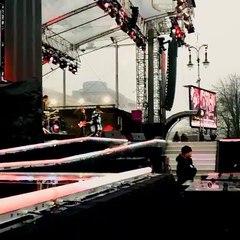 Tokio Hotel Souncheck #2 - Feel It All at Brandemburger Tor (31.12.2014)