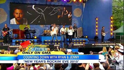 Ryan Seacrest, Jenny McCarthy Share New Year's Resolutions.