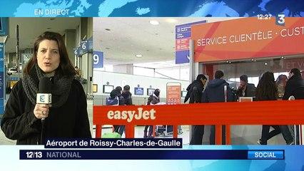 Easyjet : de nombreux vols annulés le 31 décembre et le 1er janvier