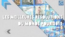 Les meilleures résolutions du monde pour 2015