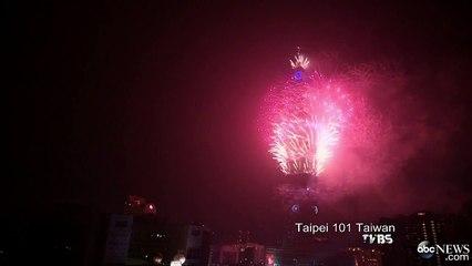 Taiwan Celebrates Arrival of 2015.
