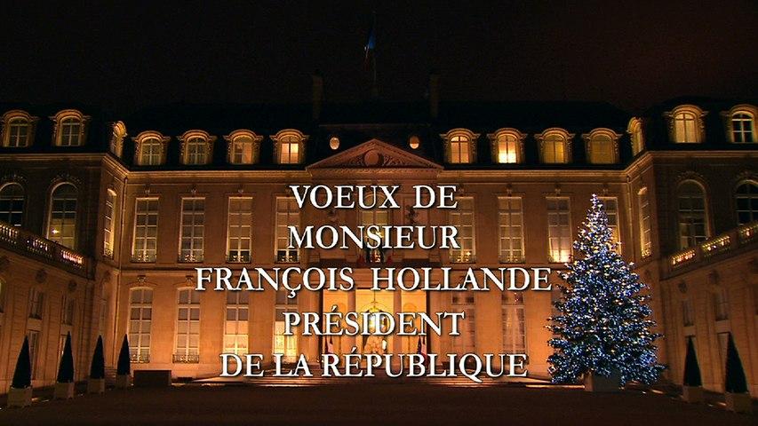 Vœux du président François Hollande aux Français pour l'année 2015