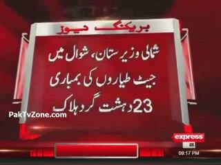 PAF Jet Strike in North Waziristan