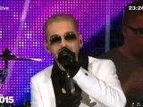 "Tokio Hotel à la Porte de Brandebourg pour le ""Willkommen 2015"" 31.12.2014"