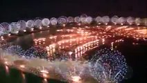 DUBAI World Record Happy  New Years 2015!!! Eve Midnight Fireworks Celebration