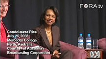 Condoleezza Rice Answers 'How is George Bush as a Boss?'