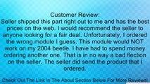 VW GOLF JETTA BEETLE AUDI TT Fan Control UNIT RELAY VW AUDI 1J0919506K Review