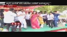 Political leaders Vulgar dances in New Year celebrations at  Prakasam