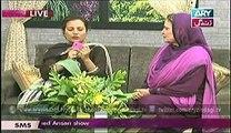 Naheed Ansari With Humera Naz Live Show (ARY Zindagi) (Ghazali Herbal)