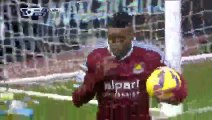 Goal Sakho - West Ham 1-0 West Brom - 01-01-2014