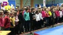 Téléthon Calvados 2014 - Blainville-sur Orne - Chorale d'enfants