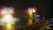Mesmerizing Fireworks at Dubai - New Year Fireworks 2015