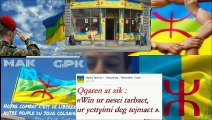 Langue kabyle ( amazigh)dans d'autre langues ..