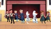 Frozen Elsa Kristoff Ten Little Indians Nursery Rhyme | Ten Little Indians Children Nursery Rhymes