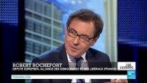 Robert Rochefort, invité de Ici l'Europe sur France24 - 091214